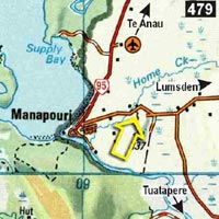 Map - Freestone Backpackers