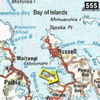 Map - Wainui Lodge
